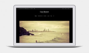 Photo Website using Divi by Elegant Themes
