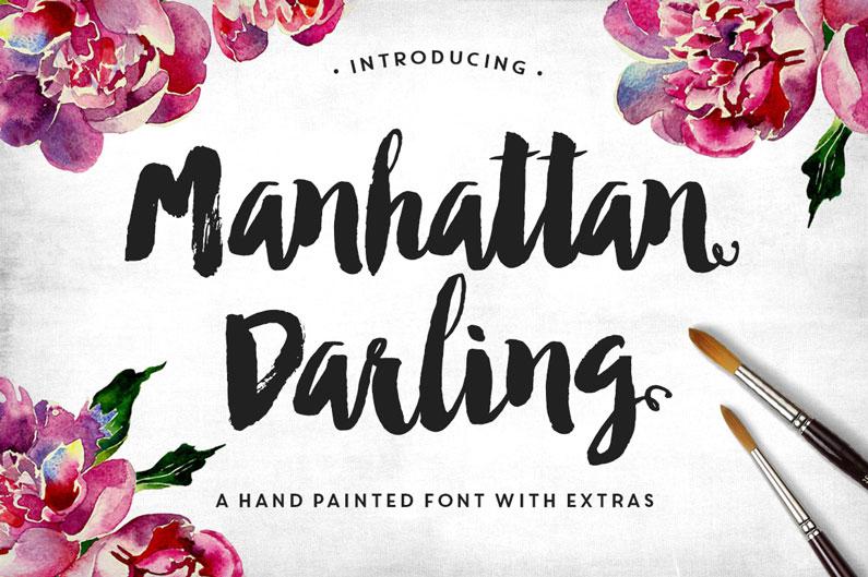 Manhattan Font