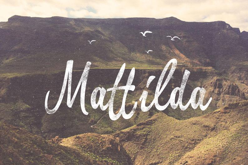 Mattilda-script