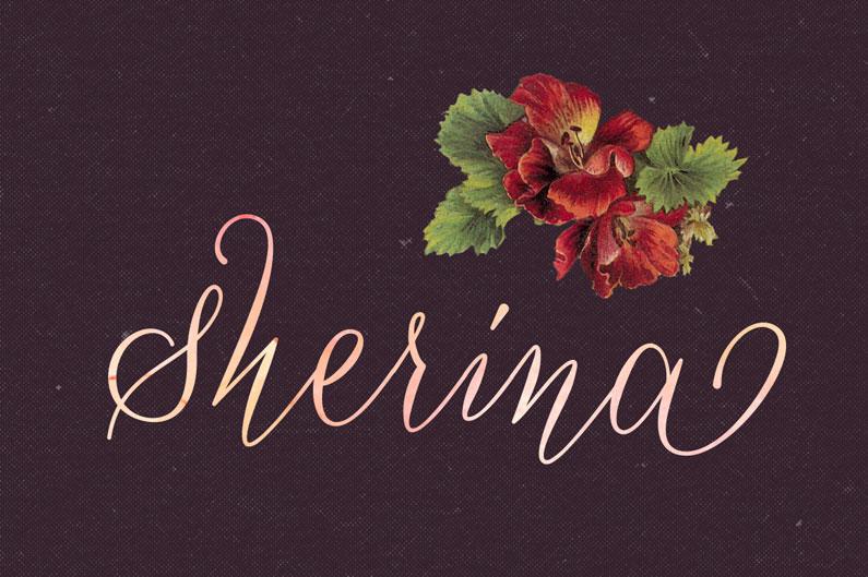 Sherina script