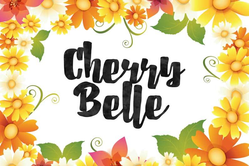 Cherrybelle brush script