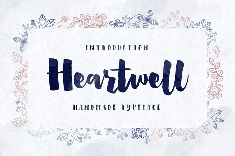 Heartwell Font