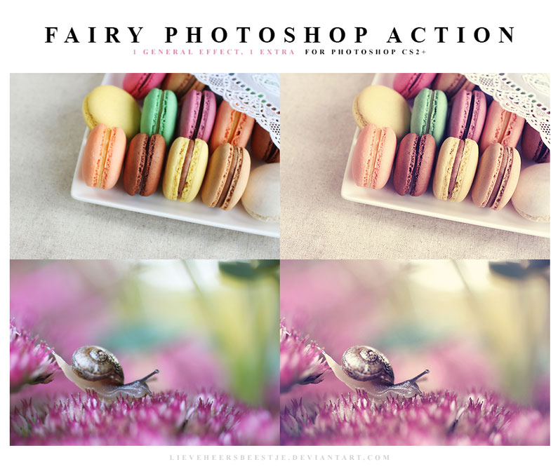 The best free photoshop actions for photographers - Fairy Photoshop Actions