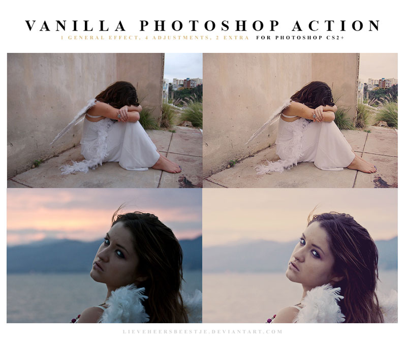 The best free photoshop actions for photographers - Vanilla Photoshop Actions