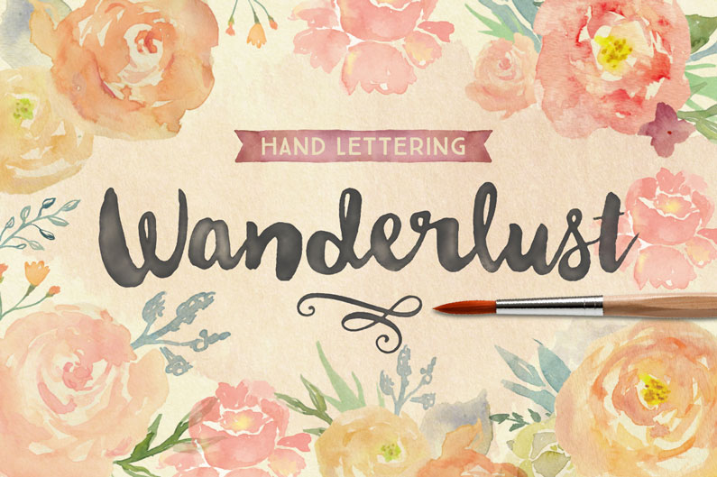 Wanderlust Script Font