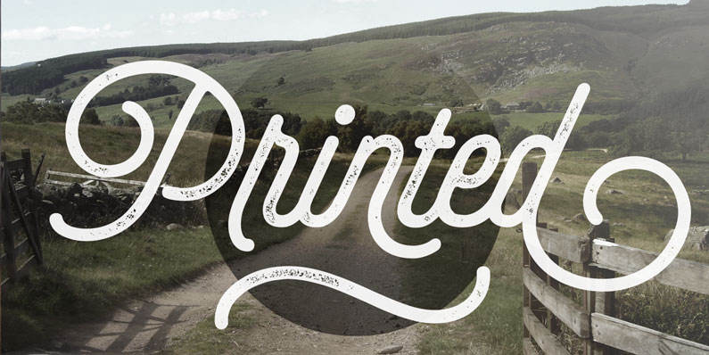 Selfie typeface - 14 Retro-Style, Vintage-esque and Hipster Fonts
