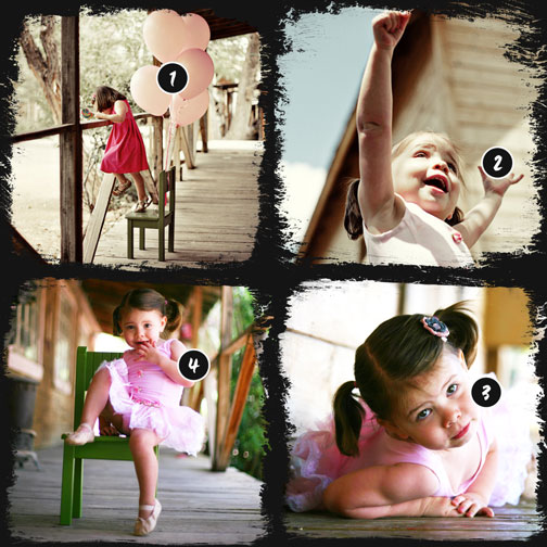 Facebook Timeline Photo Collage Template 8