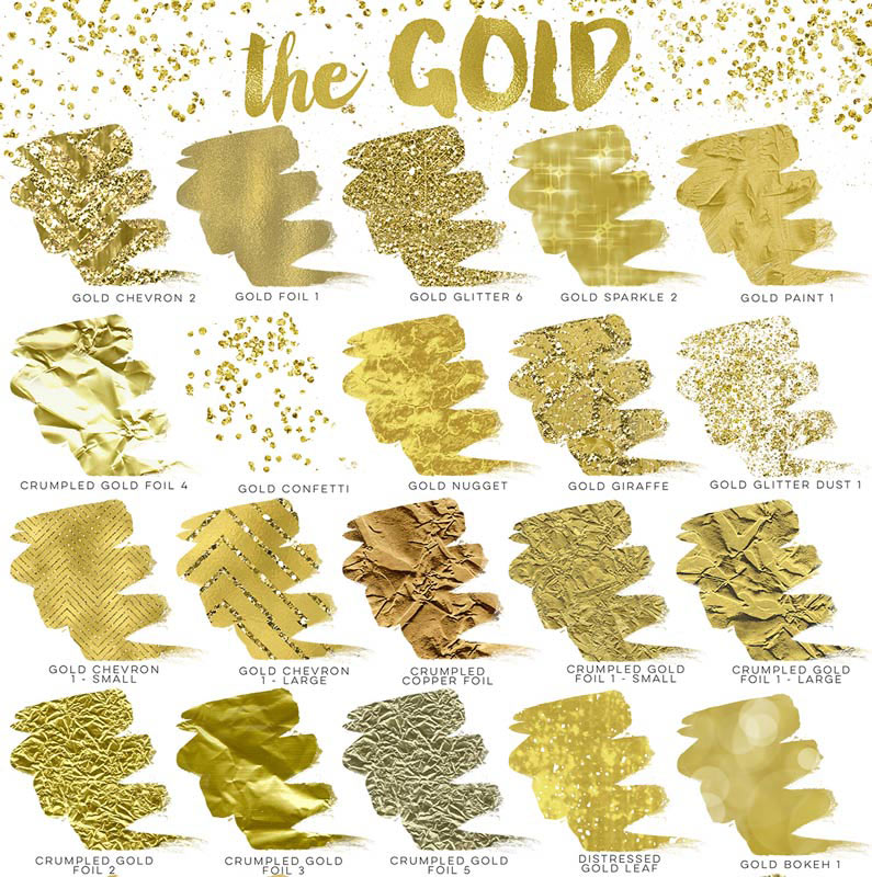How To Add Gold Foil amp Glitter Your Designs