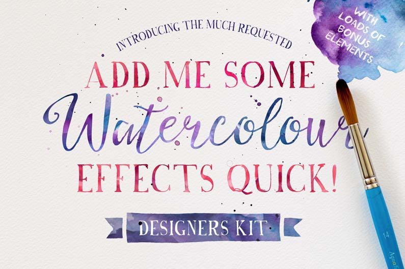 Watercolour Effects Quick