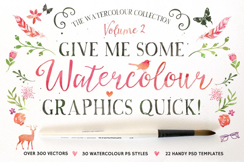 Watercolour Graphics Quick