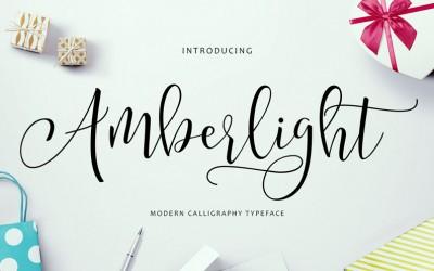 Amberlight Script – A New Fresh & Modern Script Font