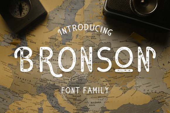 Bronson works extremely well for typing on curved paths (for badges, logos and type based design)