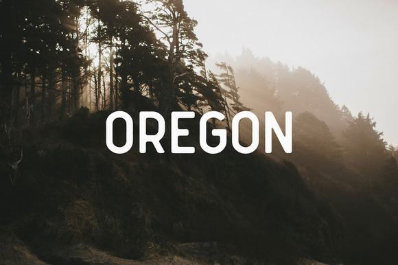 Oregon is a clean and simple vintage sans serif font, with smooth edges to simulate vintage printing. Perfect for vintage logo designs, headers and small amounts of text.
