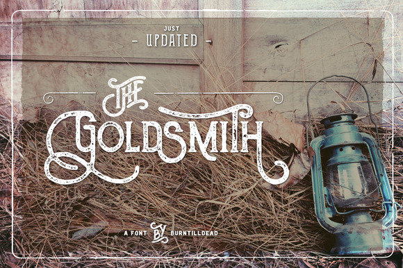 30 Retro Fonts with Swashes