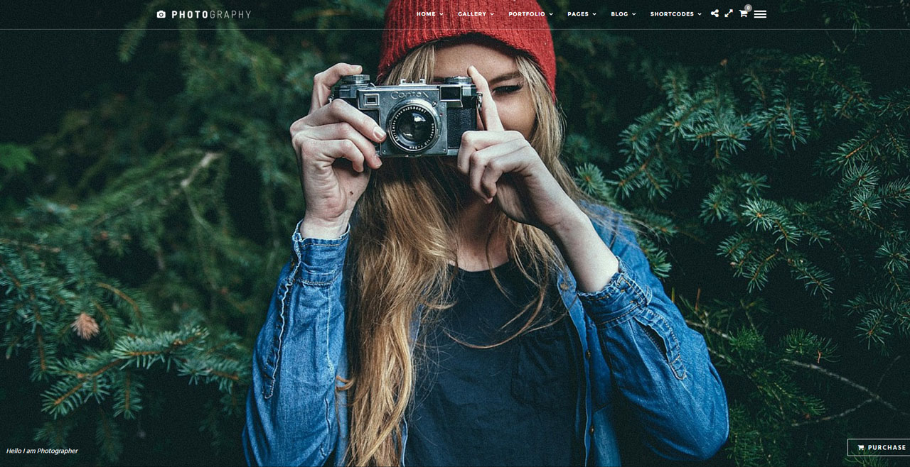 Photographer – Responsive WordPress Theme