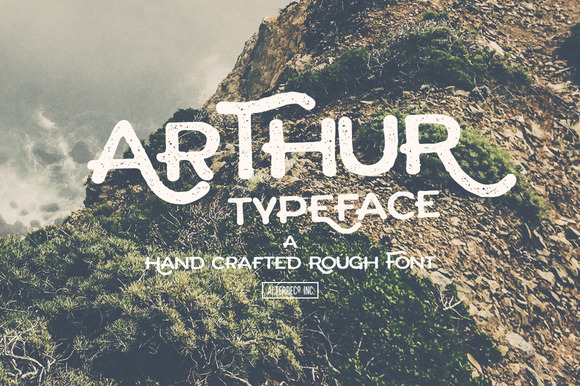 Arthur is a hand drawing font, its perfect for your adventure photography designs, tshirt designs, etc.