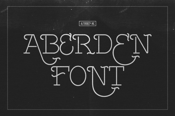 Aberden is an all caps thin font with uniq style, its perfect for your adventure photography designs, tshirt designs, etc.
