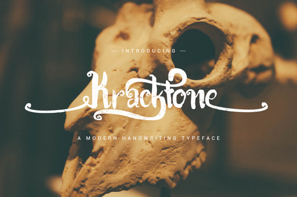Kracktone Typeface