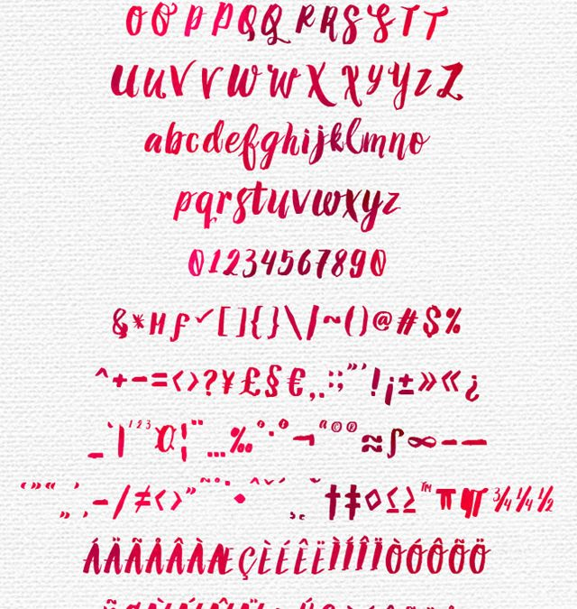 Amelian Cursive Font