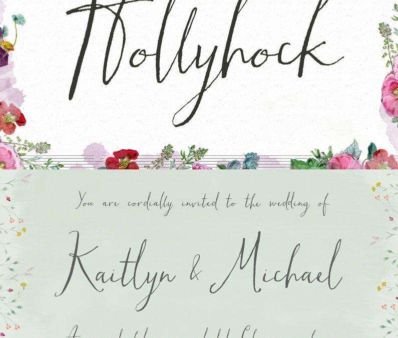 Hollyhock Cursive Font