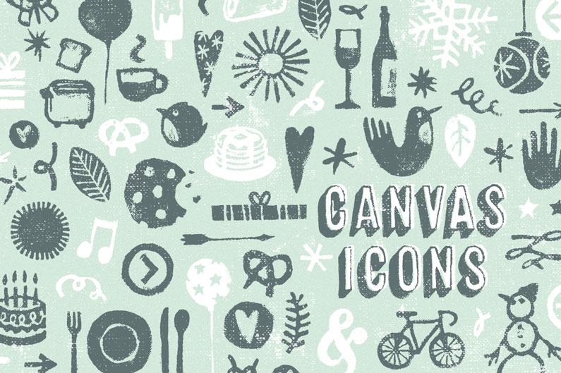 Canvas Acrylic Font