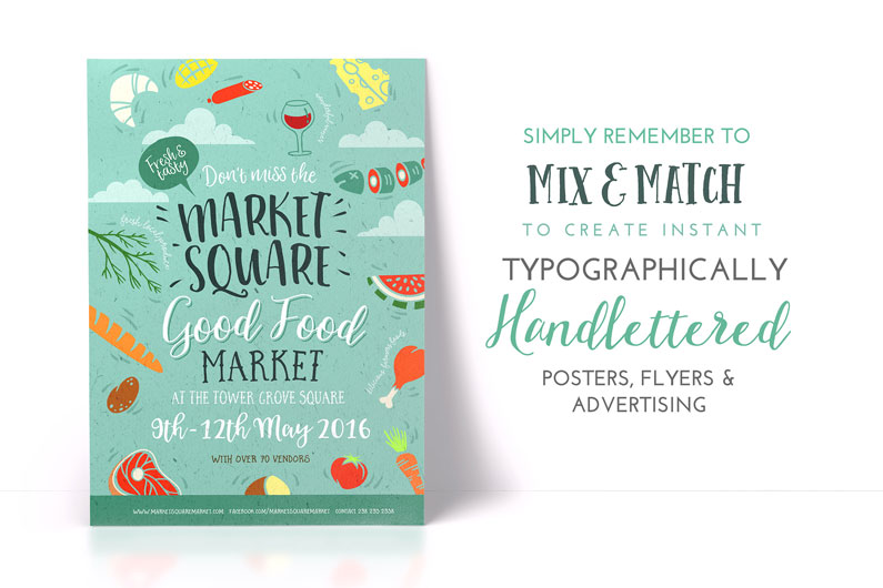 Handlettered Font Bundle