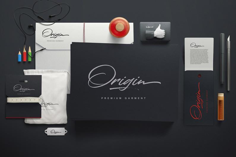 Colatin font for signatures