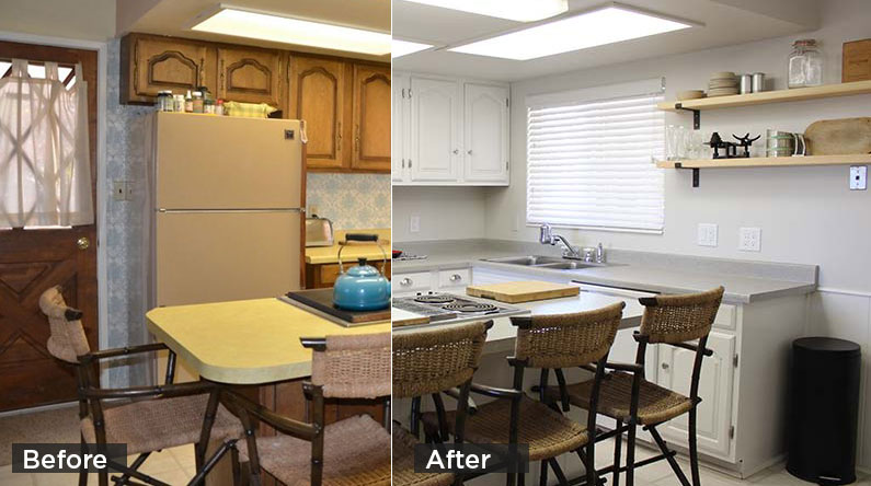 DIY $1,500 Kitchen Makeover