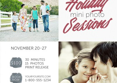 Photo Session Marketing Template - 15