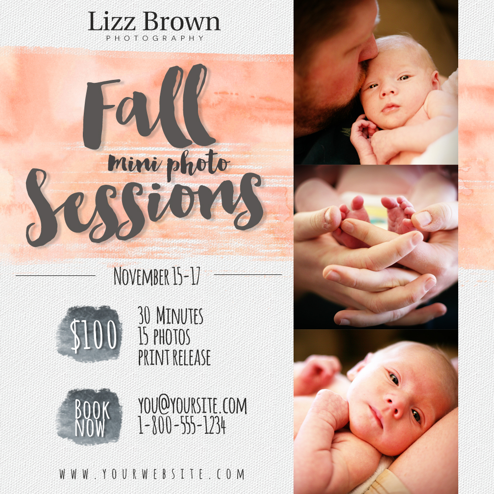 Free Mini Session Templates