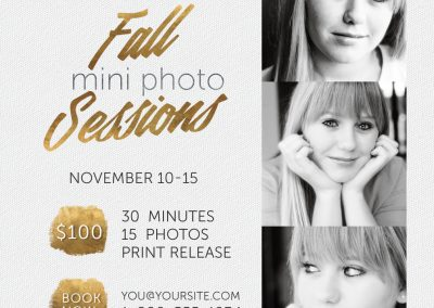 Photo Session Marketing Template - 5