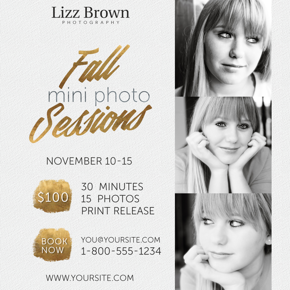 Free Mini Session Templates for Photographers