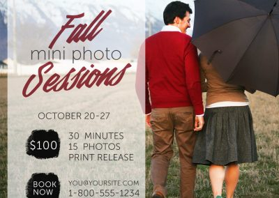 Photo Session Marketing Template - 8