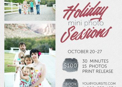 Photo Session Marketing Template - 9