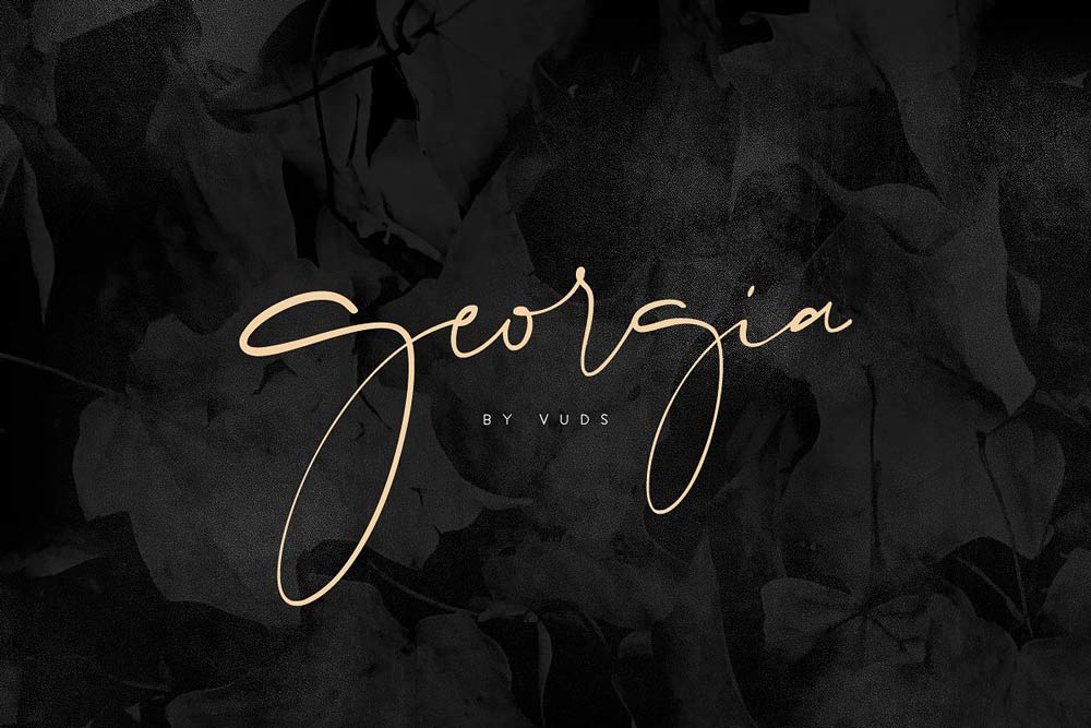 Signature fonts for the perfect