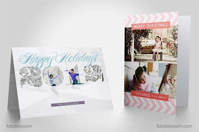 fotoblossom-holiday-card-template