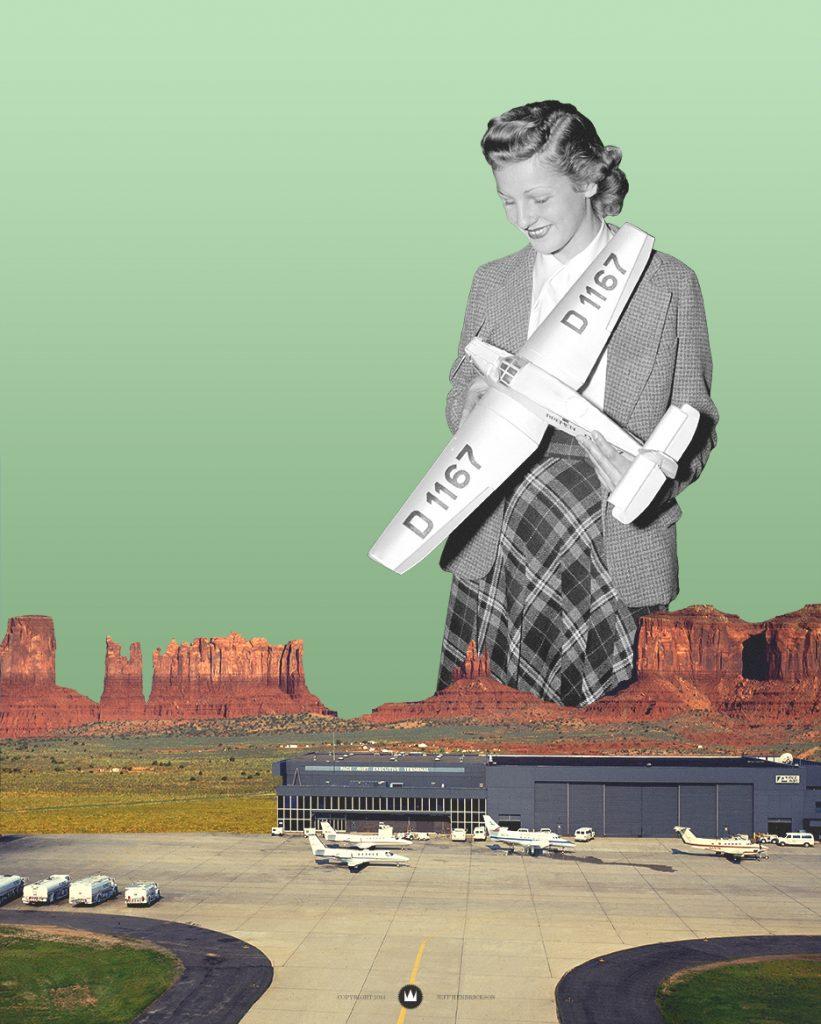 woman-plane