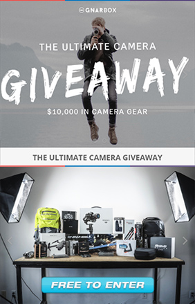10k Camera Giveaway!  Free to Enter!