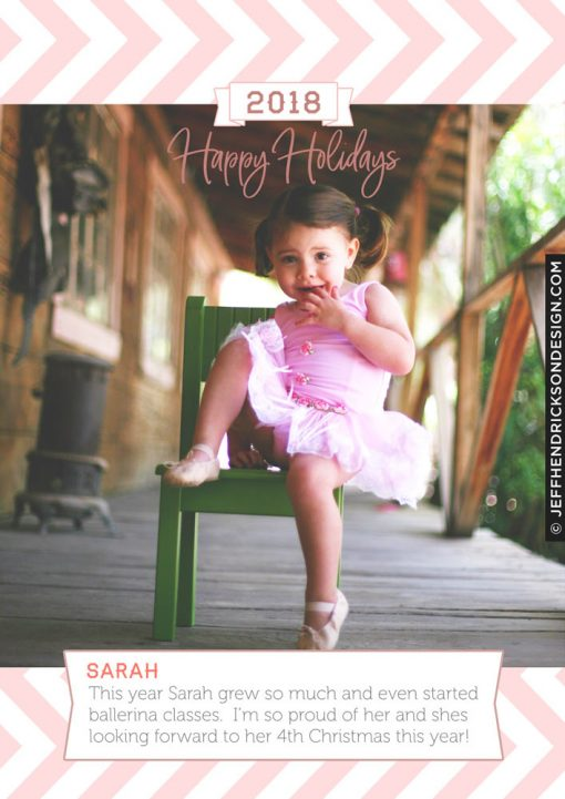 20-Card-5x7 Christmas Card Template