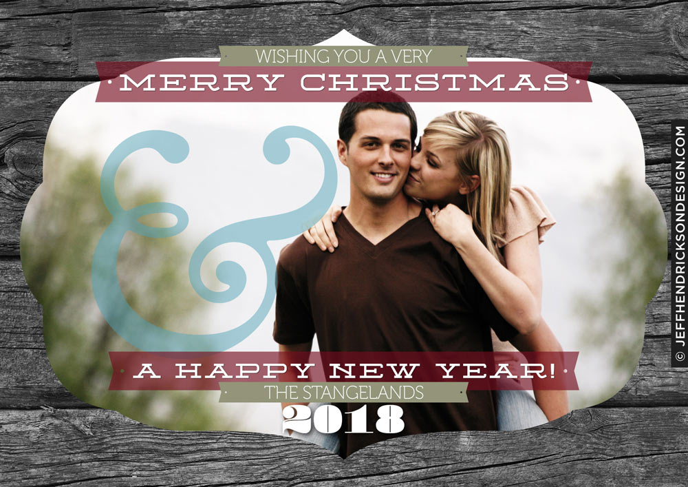 29-Card-7x5 Christmas Card Template