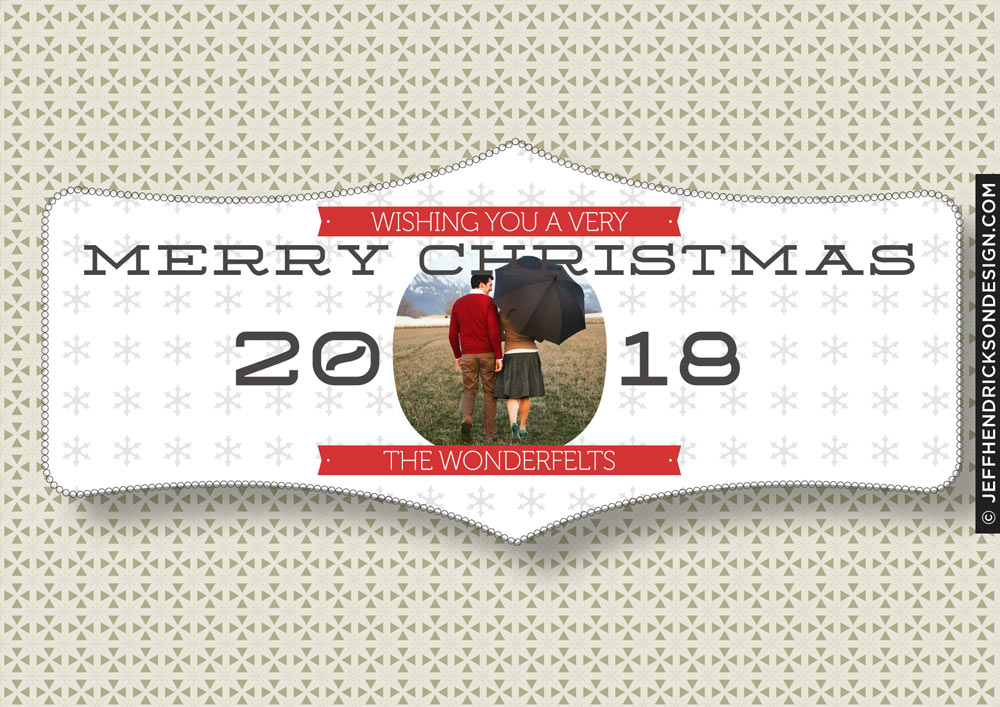 30-Card-7x5 Christmas Card Template