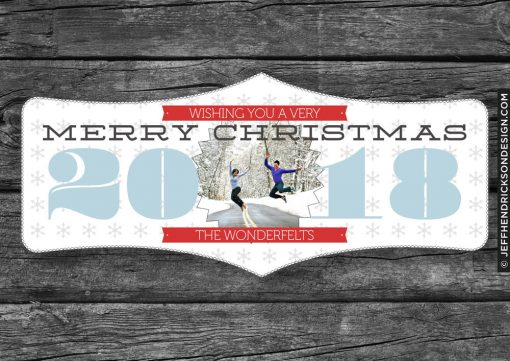 31-Card-7x5 Christmas Card Template