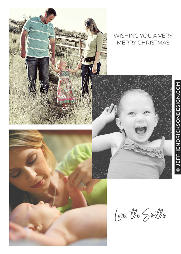 41-Card-5x7 Christmas Card Template